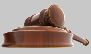 Gavel with Base