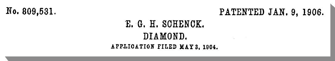 1904 Patent