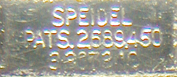 Spidel Patent Number