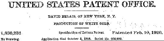 1918 Patent